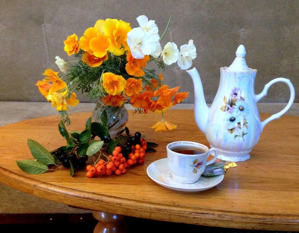 Утренний кофе. - Валентина Богатко