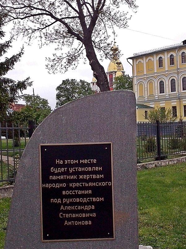 Тамбов город толерантности ! Есть  памятник  Ленину  будет  памятник  Антонову ! - Виталий Селиванов