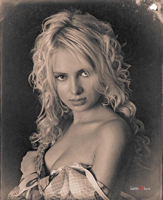 Алевтина, жанровый портрет - Борис Соловьев