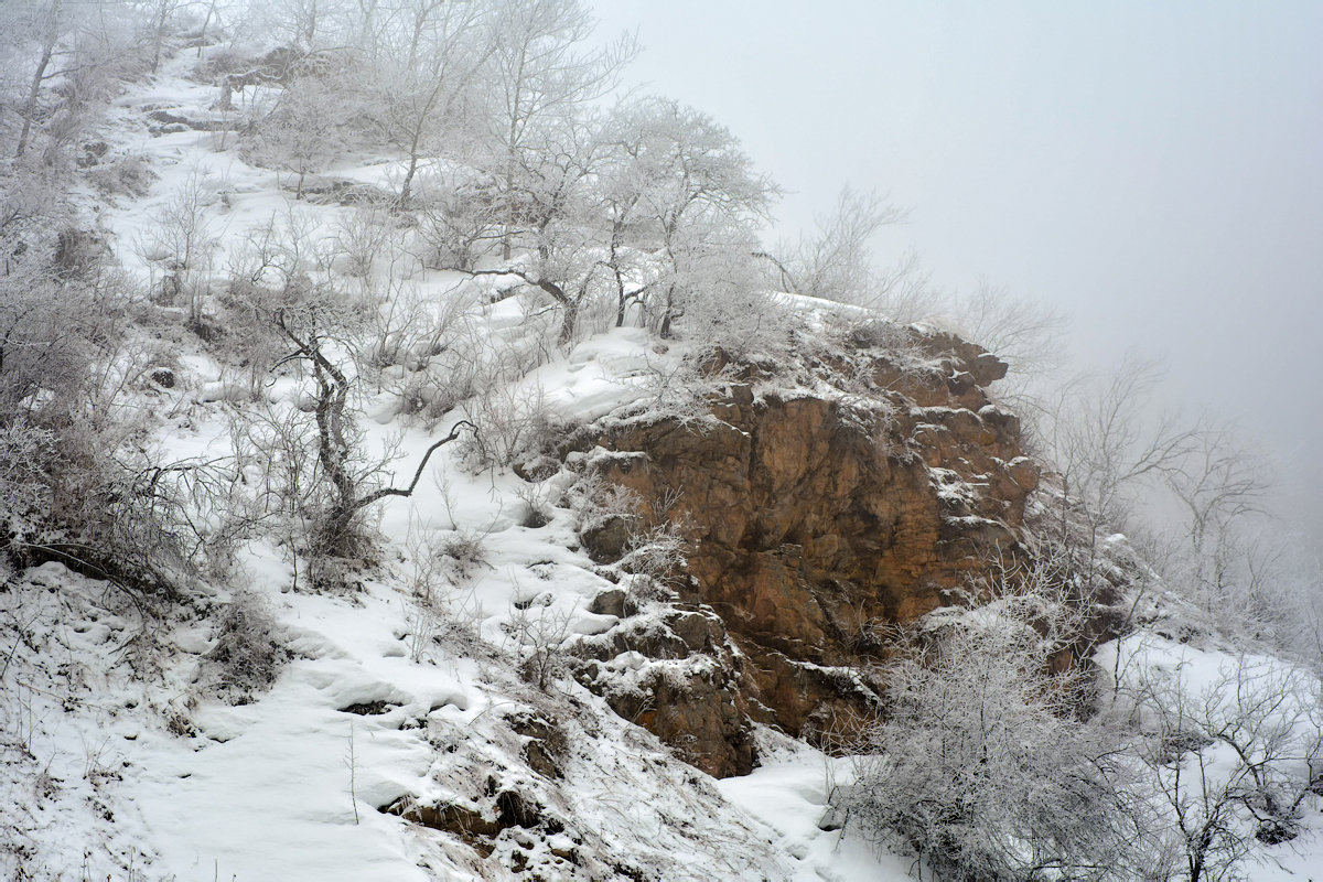 снежные узоры - Горный турист Иван Иванов