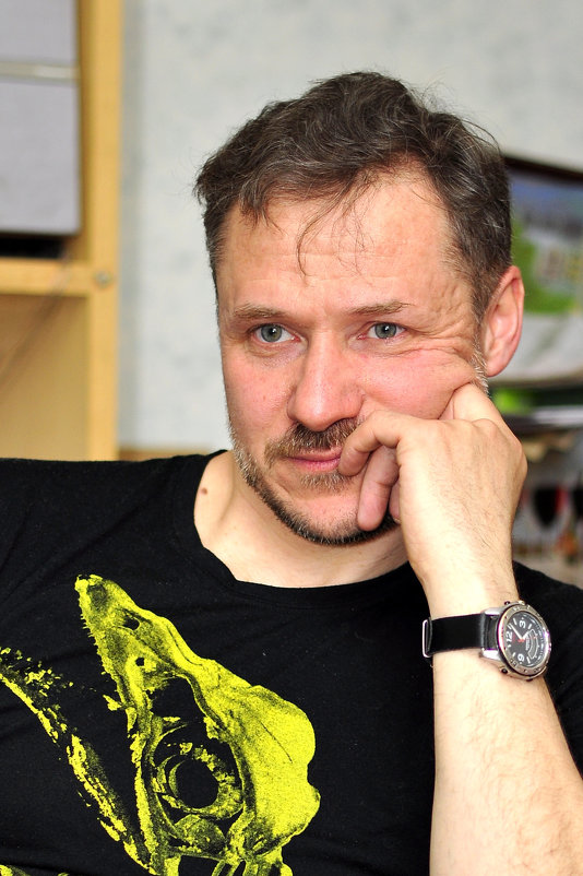 В мастерской - Александр Иосипенко