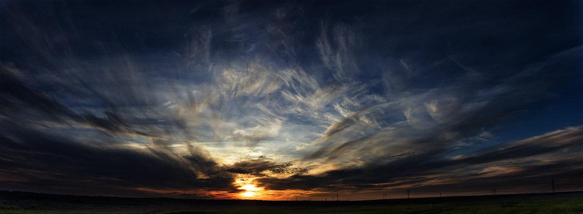 Над нами только небо... - Виталий Павлов