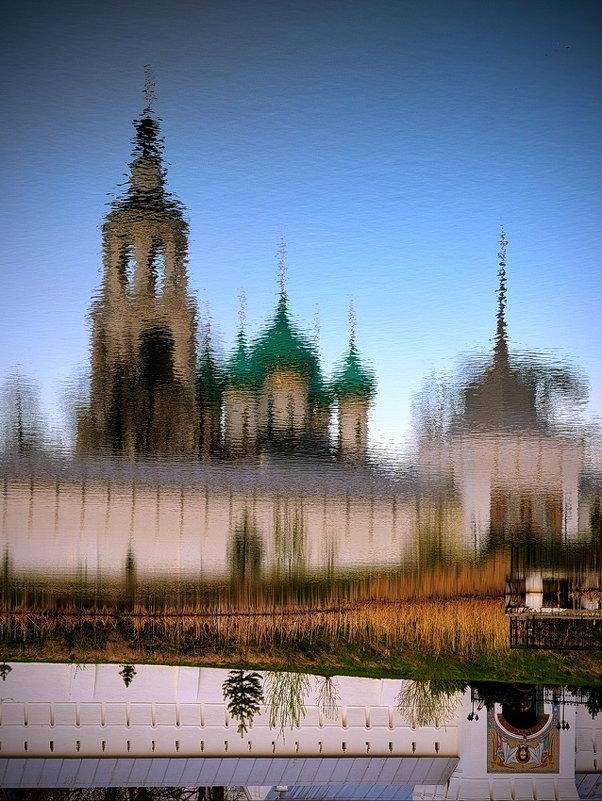Майские отражения в Толгском монастыре - Николай Белавин