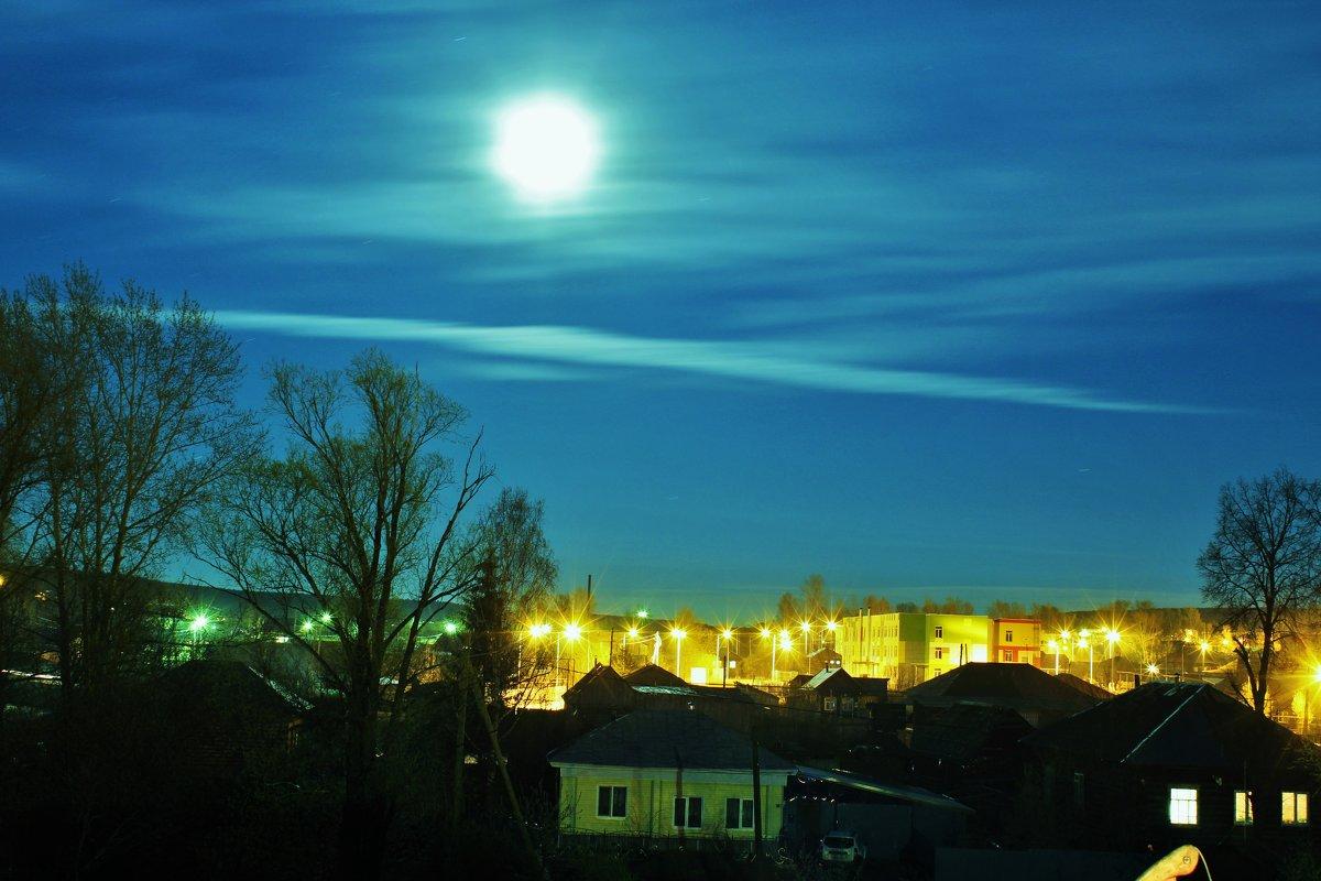 лунный вечер - геннадий щербак