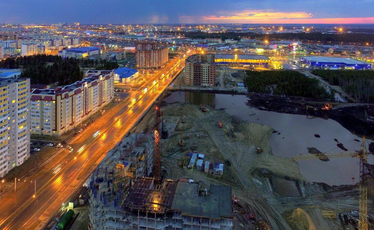 Здесь будет город... - Олег Петрушов