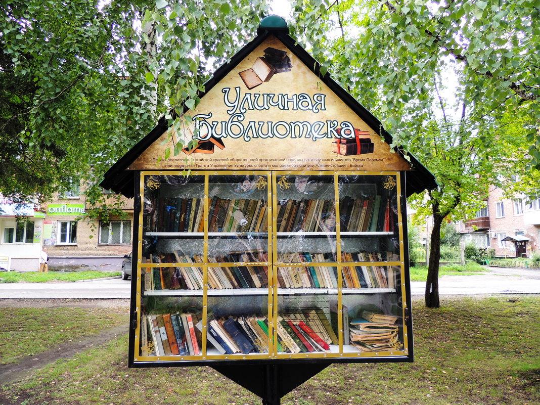 уличная библиотека - kaban-4eg Алтайский