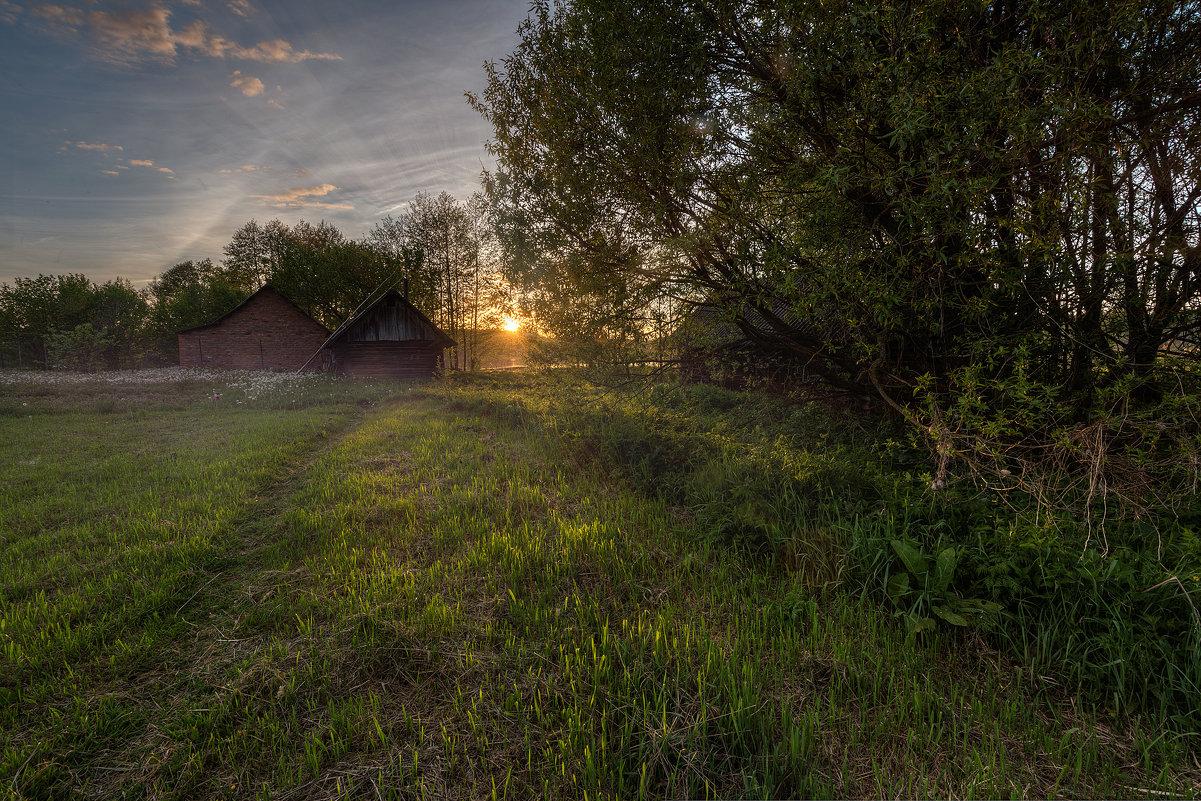 Вечер в деревне - Александр Попков