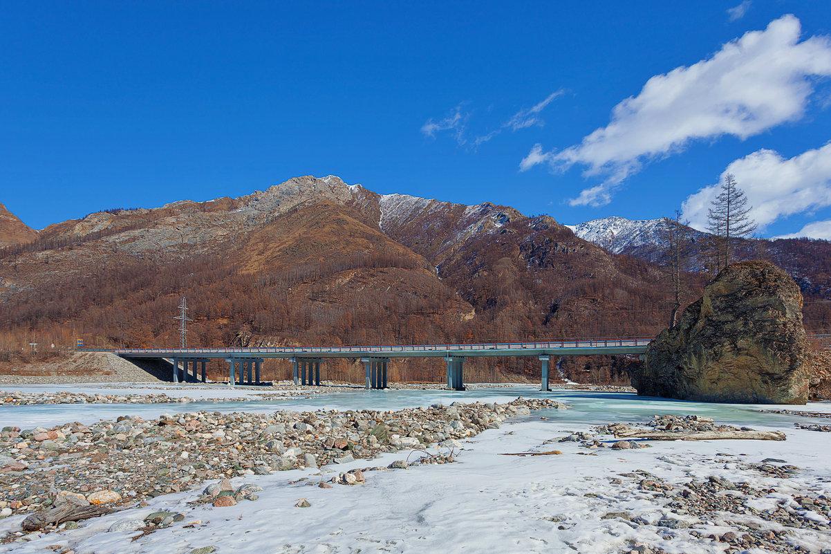 Мост на трассе Монды-Орлик - Анатолий Иргл