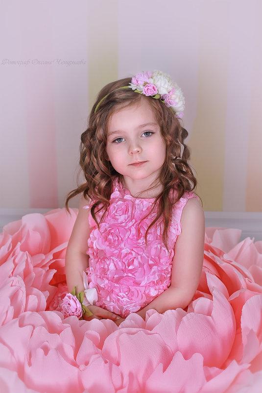 цветочная принцесса - Оксана Чепурнаева