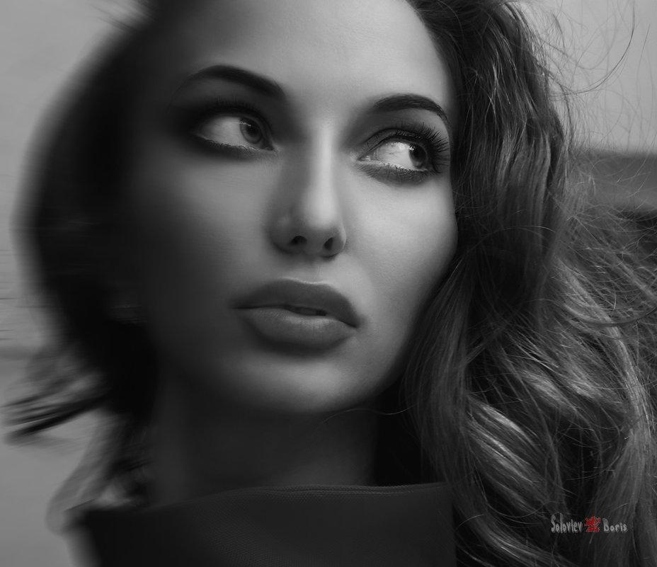 Лана портрет - Борис Соловьев