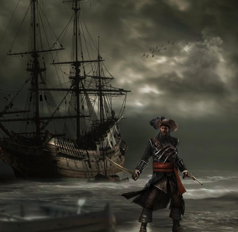 Пират № 3 - Андрей Веселов ( Богомолов)