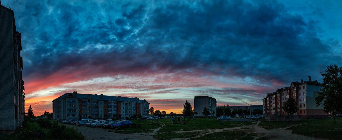 В буйных красках купол небо - Анатолий Клепешнёв