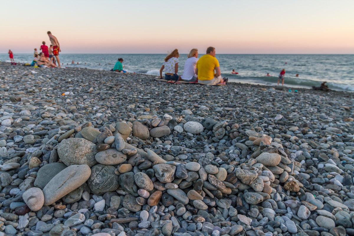 вечерний пляж, Адлер - Алексей Лейба