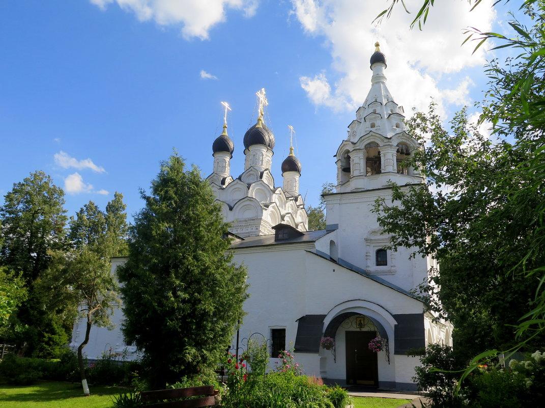 Храм преподобного Сергия Радонежского . 1678 года постройки. Комягино . - Tatyana