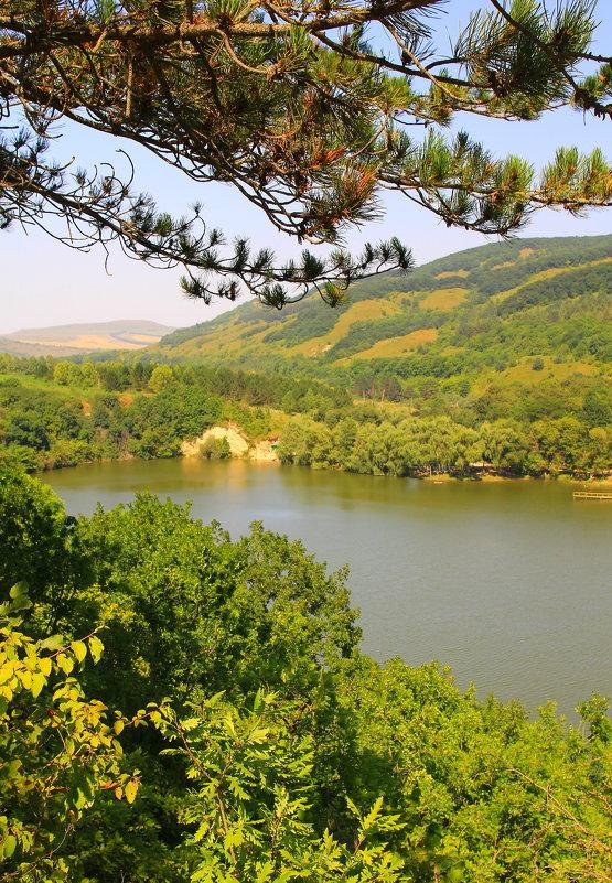 Райский уголок. Бекешевское озеро (северная часть) с высоты птичьего полёта - Vladimir 070549