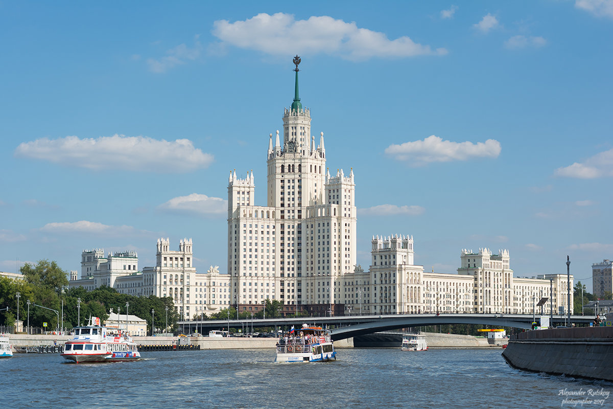 Вид с Москвы-реки - Александр Руцкой