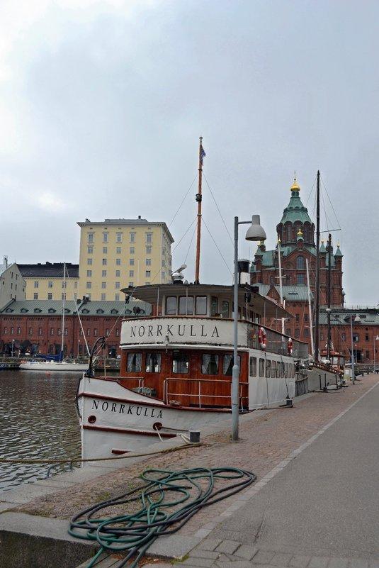 Набережная в Хельсинки - Ольга