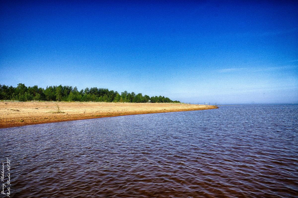 Питер берег пляжа Большая Ижора - Юрий Плеханов