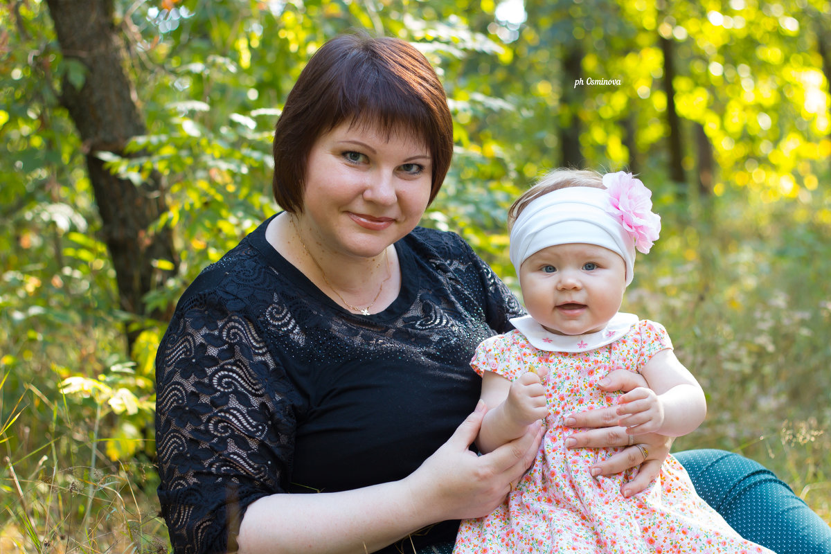 мама и дочка - Olga Osminova
