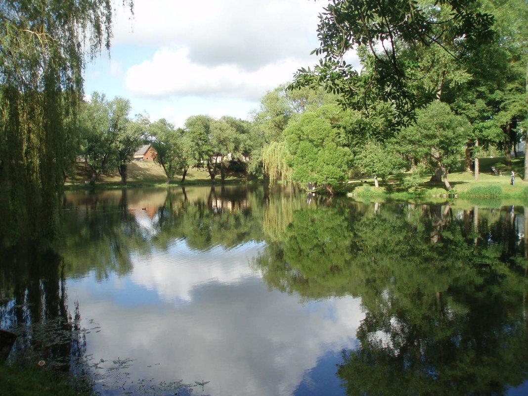 Pastauninko parkas. Kretinga / Park in Kretinga - silvestras gaiziunas gaiziunas