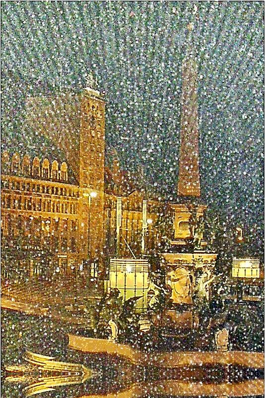 Зимний вечер - irina Schwarzer