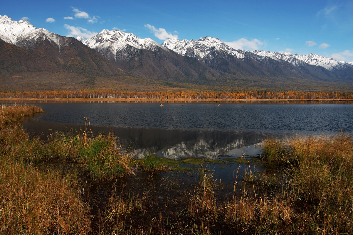 Енгаргинское озеро в Тункинской долине... - Александр Попов