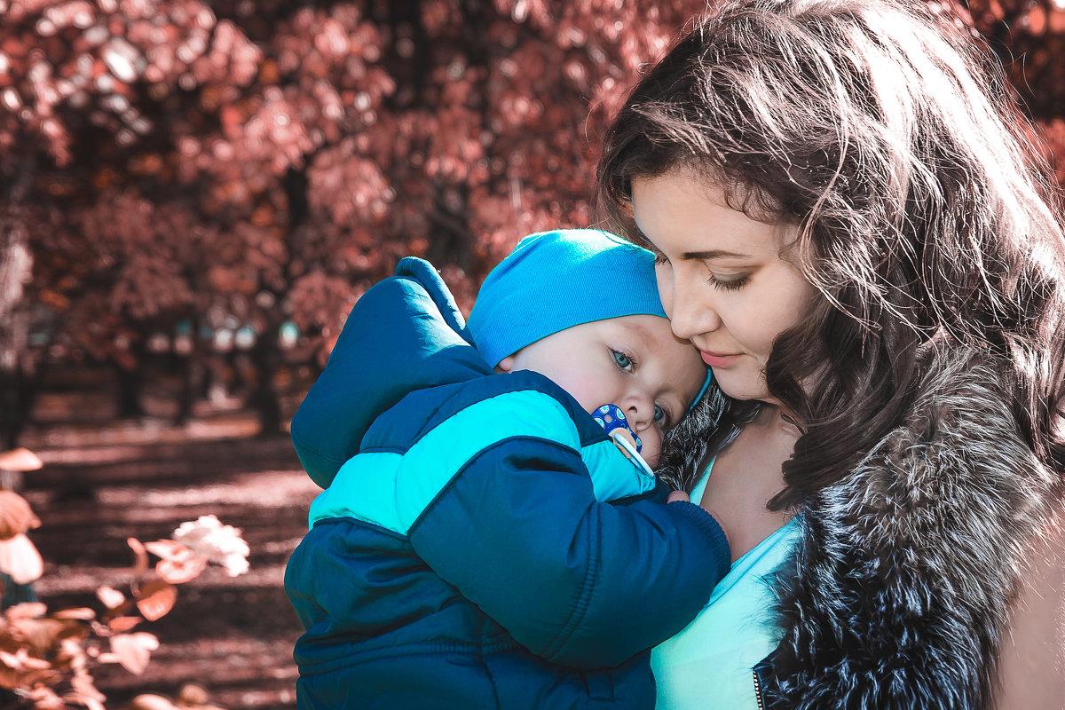 Осенние прогулки с детками - Лидия Марынченко