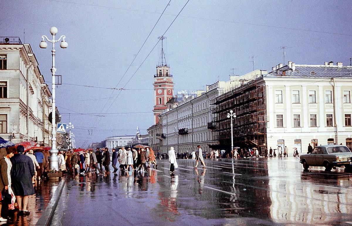 Невский проспект 1974г. - Александр