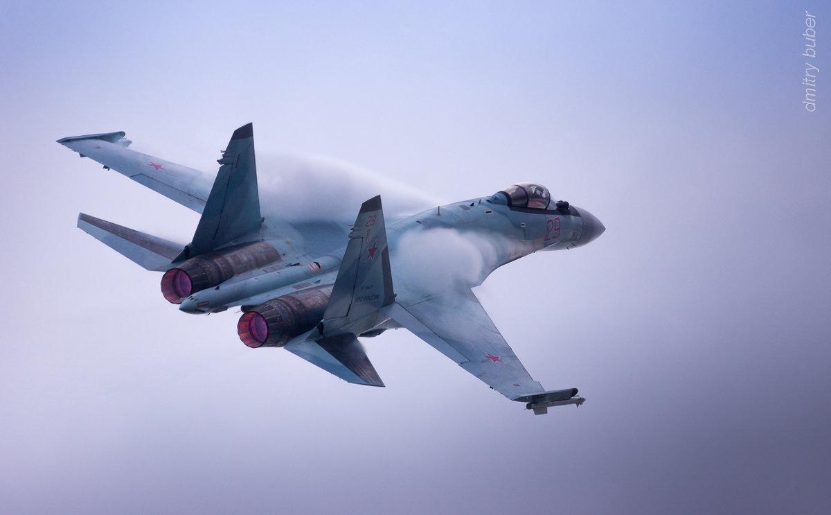 Су-35 в пастельных тонах - Дмитрий Бубер