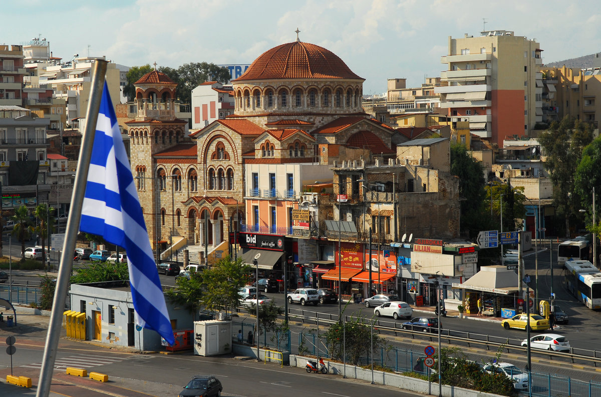 Под греческим флагом... - Надя Кушнир