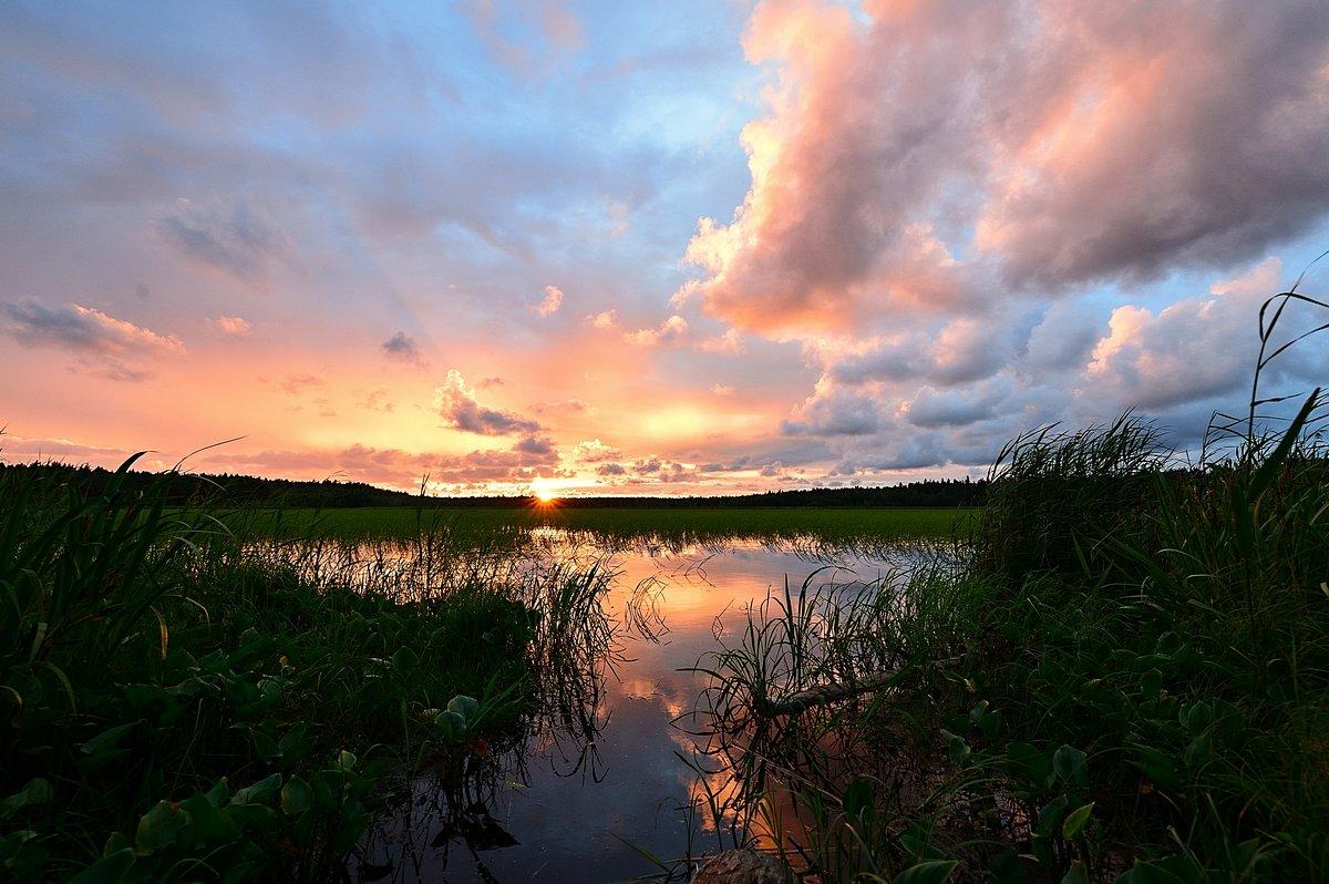 Вечер на озере - Николай