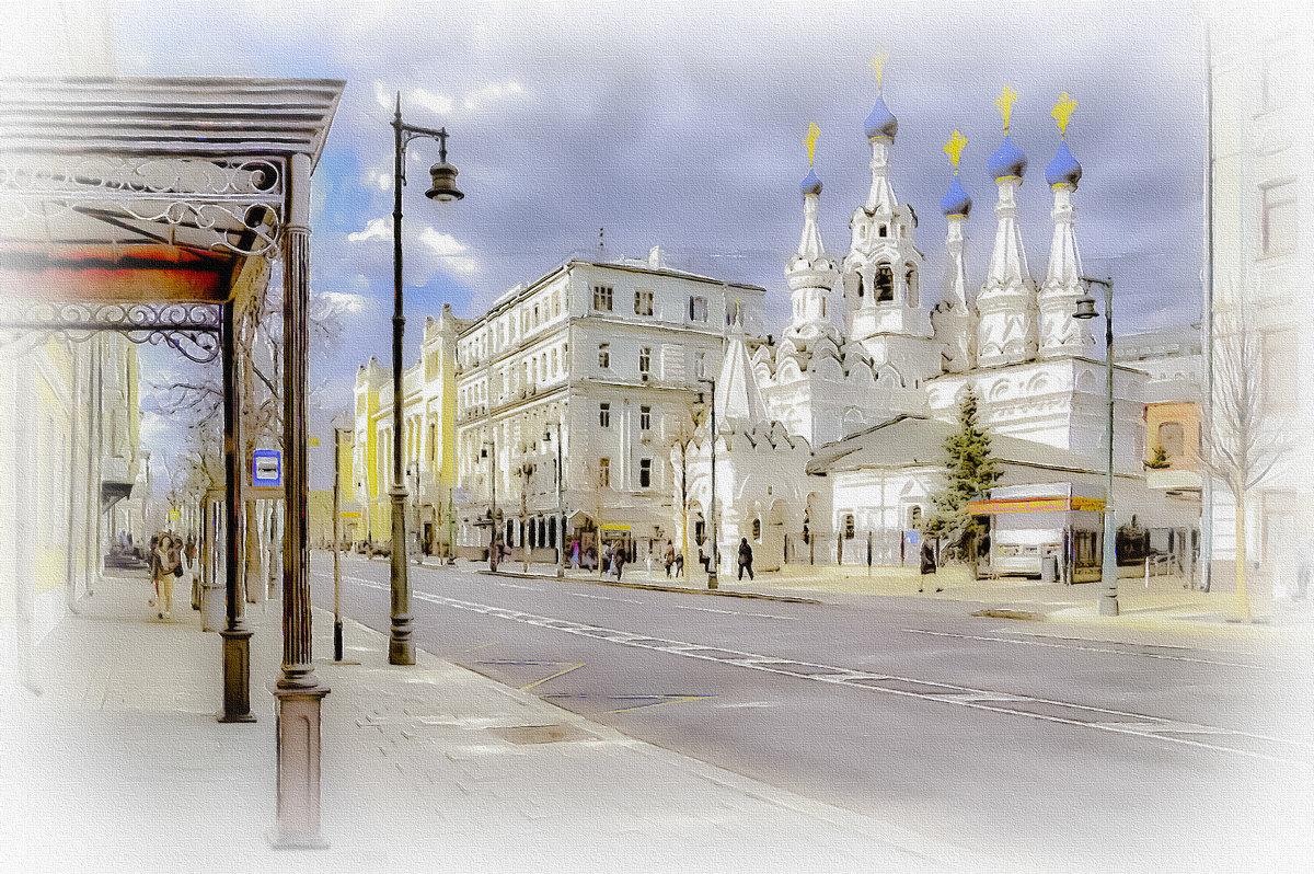 Москва. Храм Рождества Пресвятой Богородицы в Путинках. - В и т а л и й .... Л а б з о'в