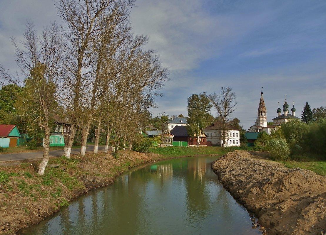 Течет река тихо ....(обновленные берега ) - Святец Вячеслав