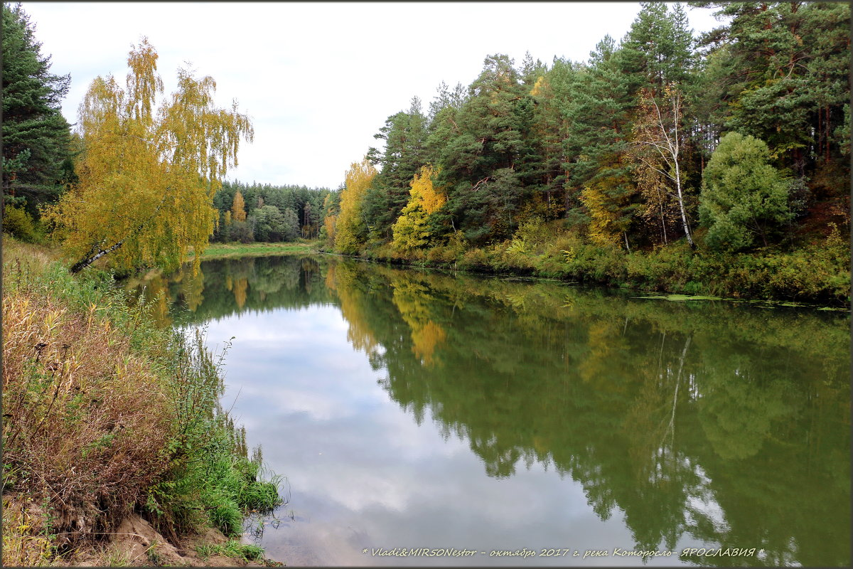 Я хожу, грущу один: Осень рядом где-то. Жёлтым листиком в реке утонуло лето.// - Владимир ( Vovan50Nestor )