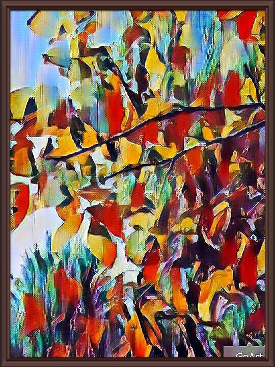 """картина """"Осенние краски"""" - Владимир Бровко"""