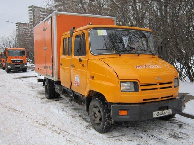 Фургон Мосгаза - Дмитрий Никитин