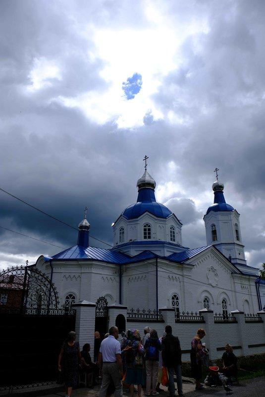 Церковь Покрова Богородицы - Верхоту́рье. - Олег Дейнега