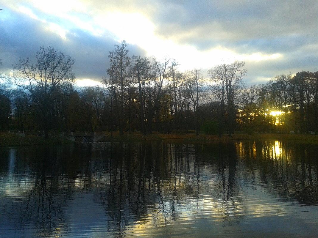 Осенний вечер - Сапсан
