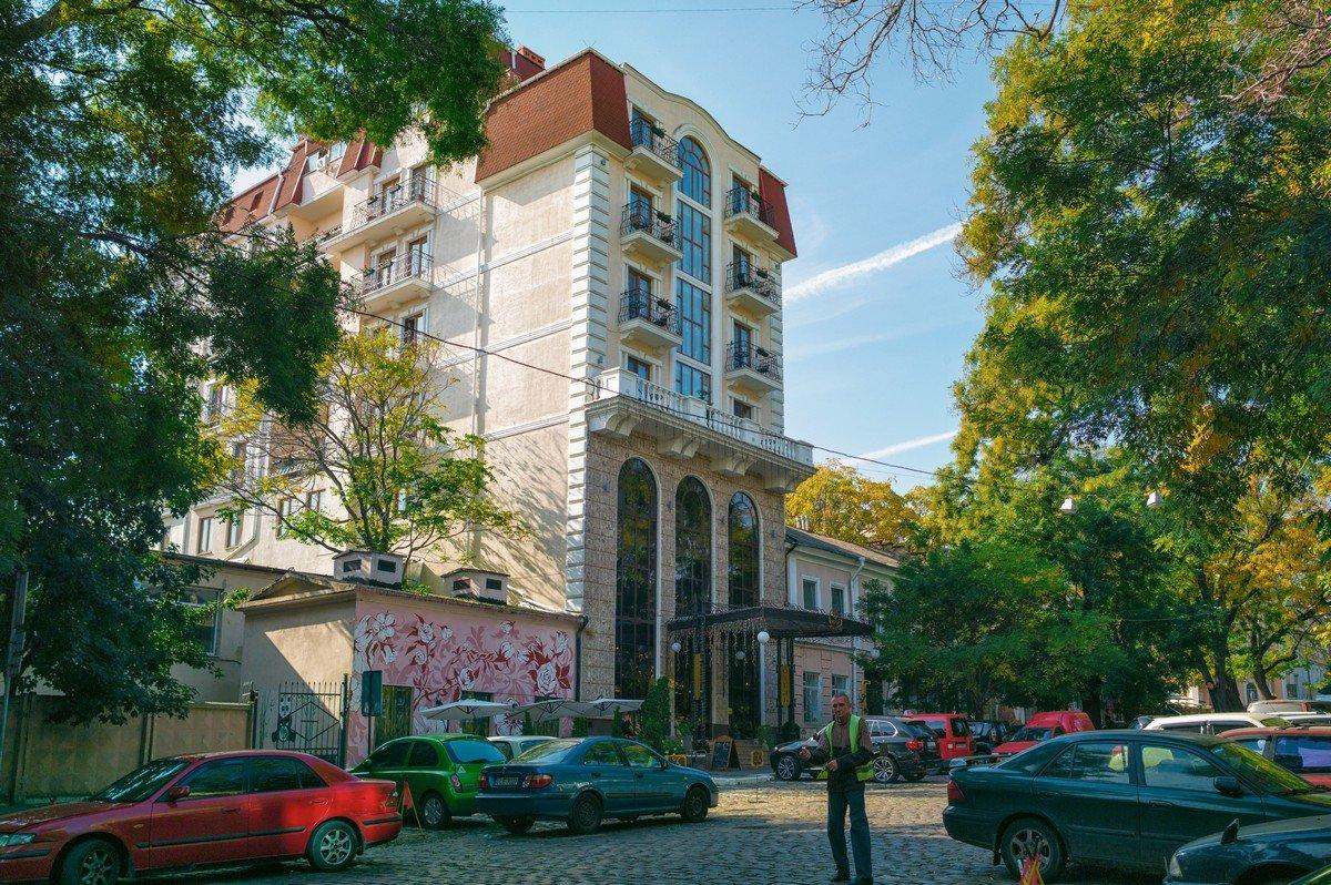 Осень в Одессе. - Вахтанг Хантадзе