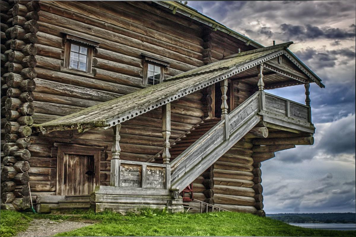 Деревянное зодчество - Анжела Пасечник
