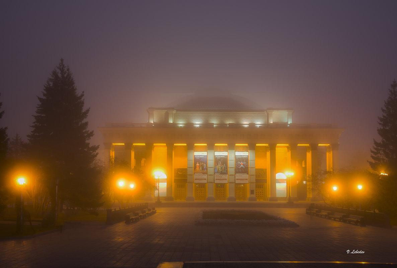 в осеннем тумане - cfysx