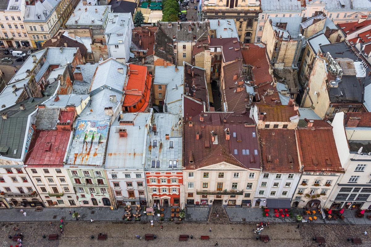 крыши Львова - Sergey Bagach