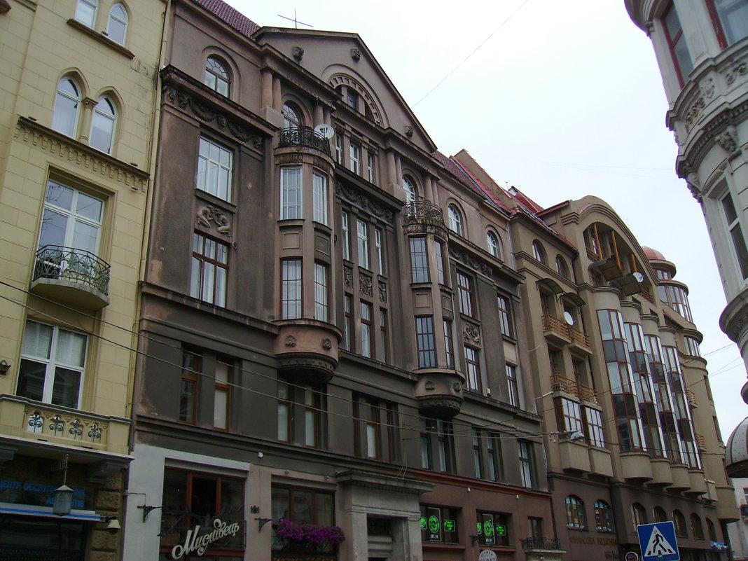 Административные   здания   в   Львове - Андрей  Васильевич Коляскин