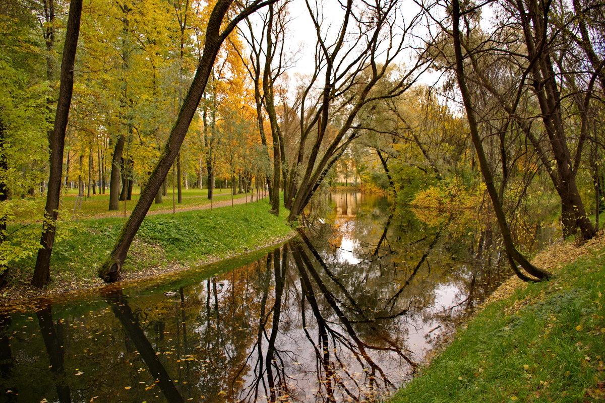 осень в парке - Валентина Папилова