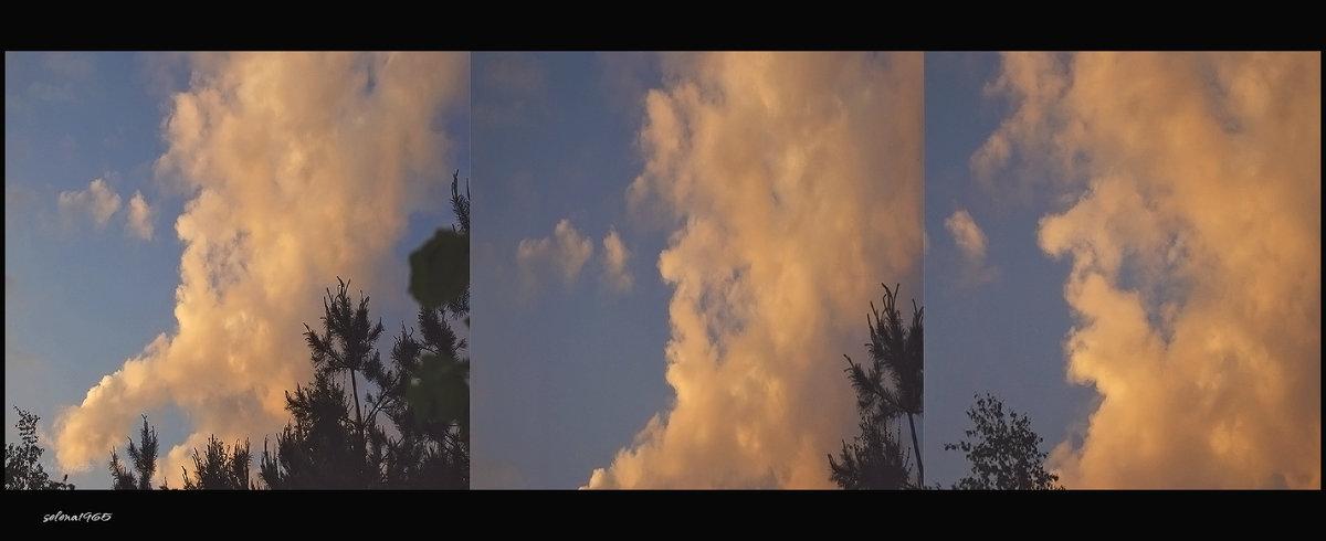 Облако похожее на старушку в чепце. - Елена Kазак