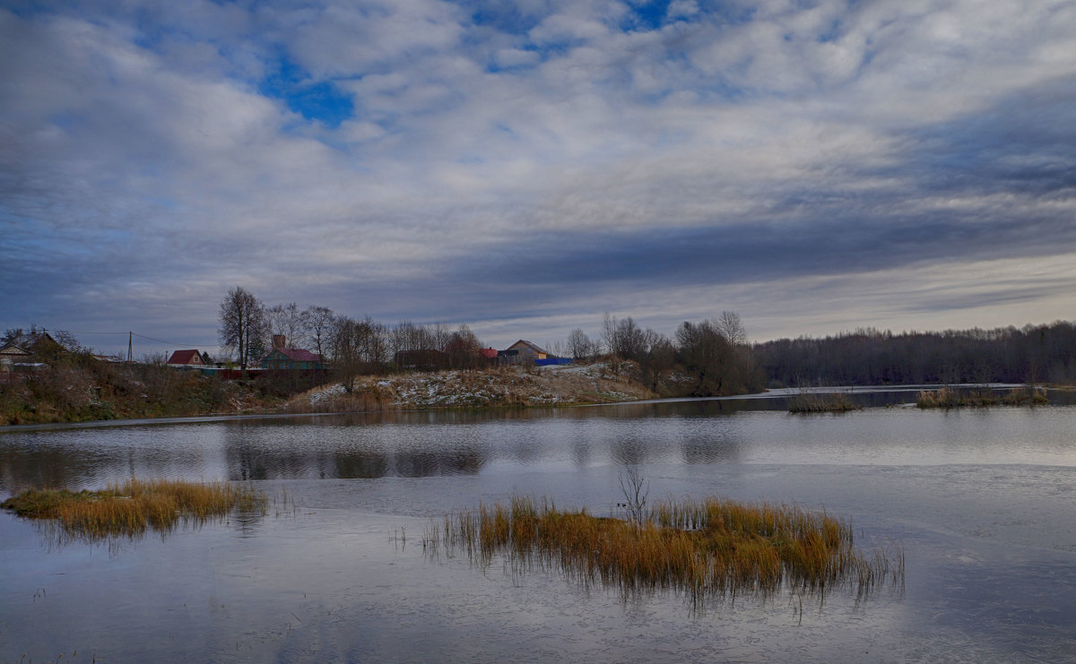 Осень на озере - Анатолий