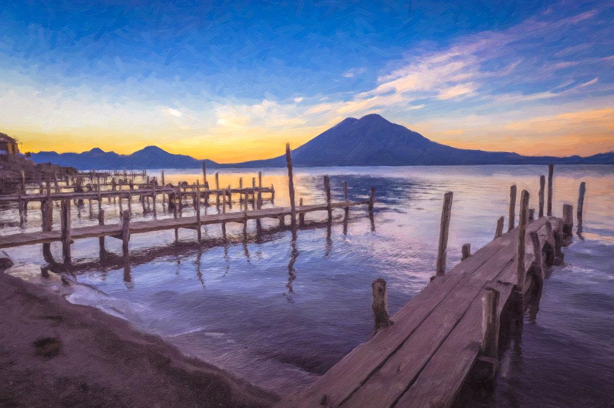 Озеро Атитлан, Гватемала. - Ксения Исакова