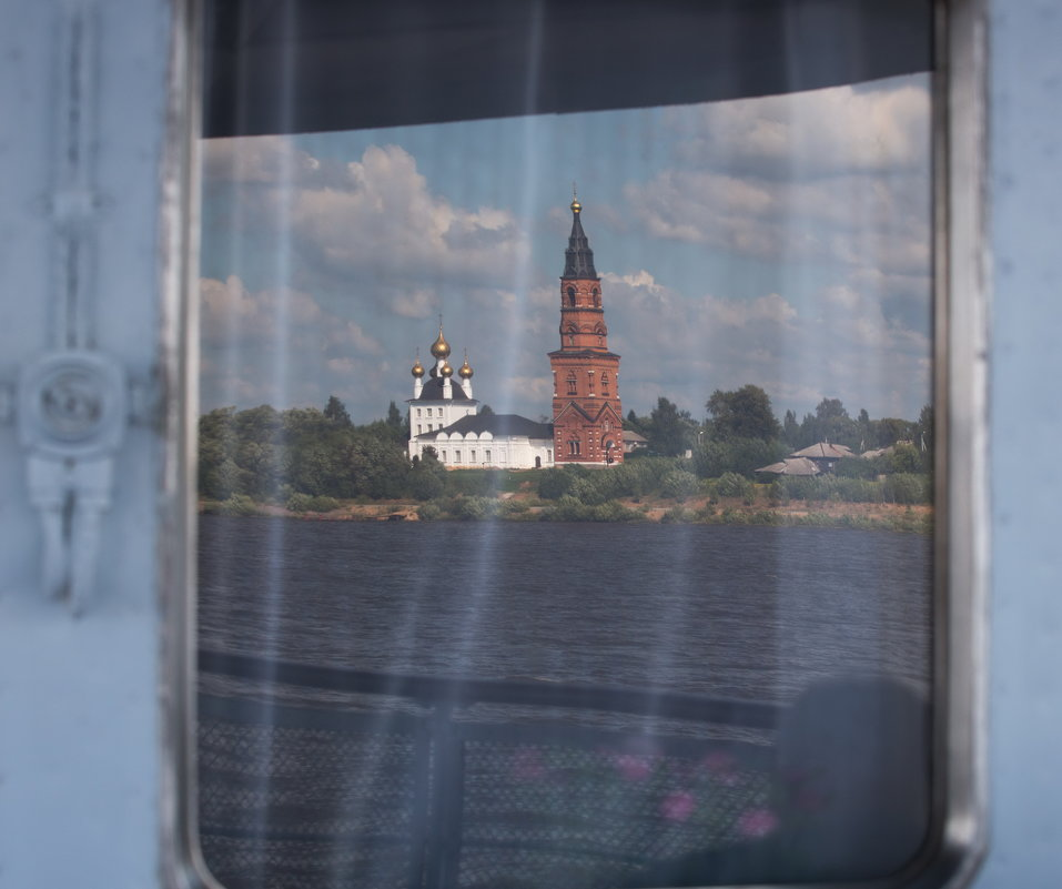 Путешествие из Петербурга в Москву.Волга. - юрий макаров