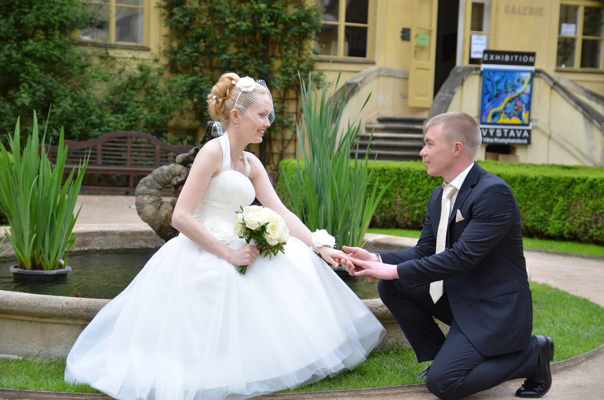 Жених и невеста - Ольга