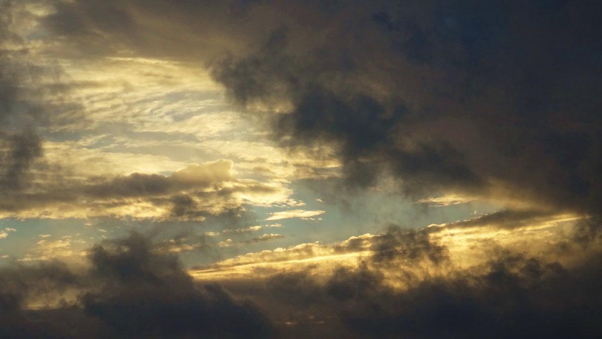 Быстробегущие по небу черные облака. Будет дождь - татьяна